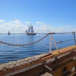 Unterwegs mit Traditionsseglern auf der Flensburger Förde