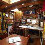 Kartentisch und Navigationsgeräte