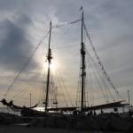 Unser Jubiläumsschiff in Dänemark