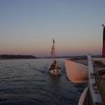 Im Morgengrauen zurück nach Kiel