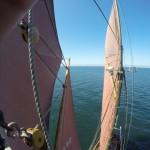 Topsegel-Training - die Mastperspektive